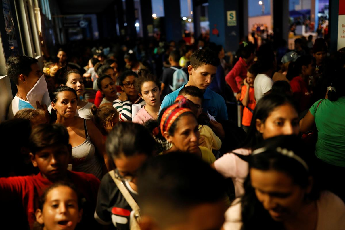 As Peru tightens its border, desperate Venezuelans cling to asylum lifeline