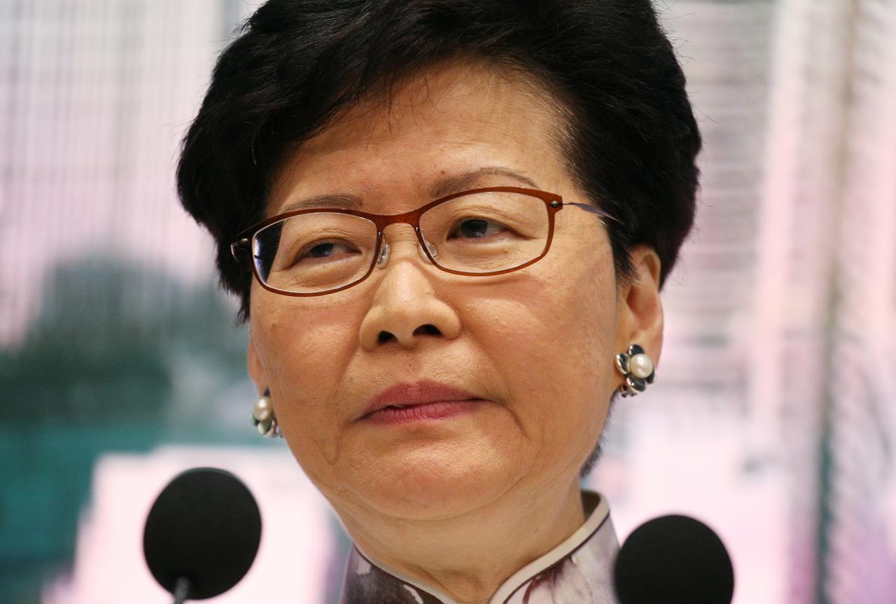 China won't allow Hong Kong leader to step down despite mass