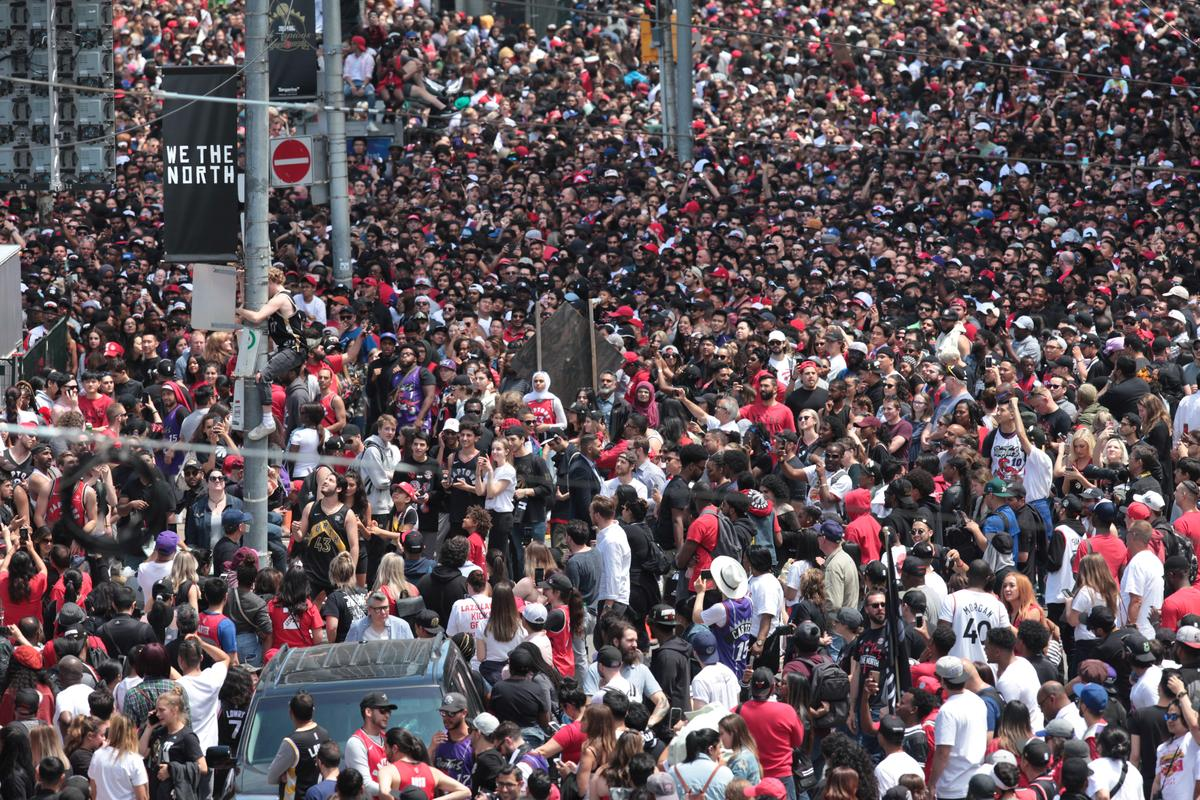 Shooting mars Toronto Raptors NBA victory parade attended by 2 million Canadians