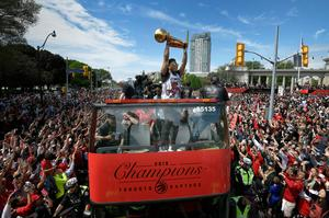 Millions of Canadians cheer Toronto Raptors in NBA victory parade