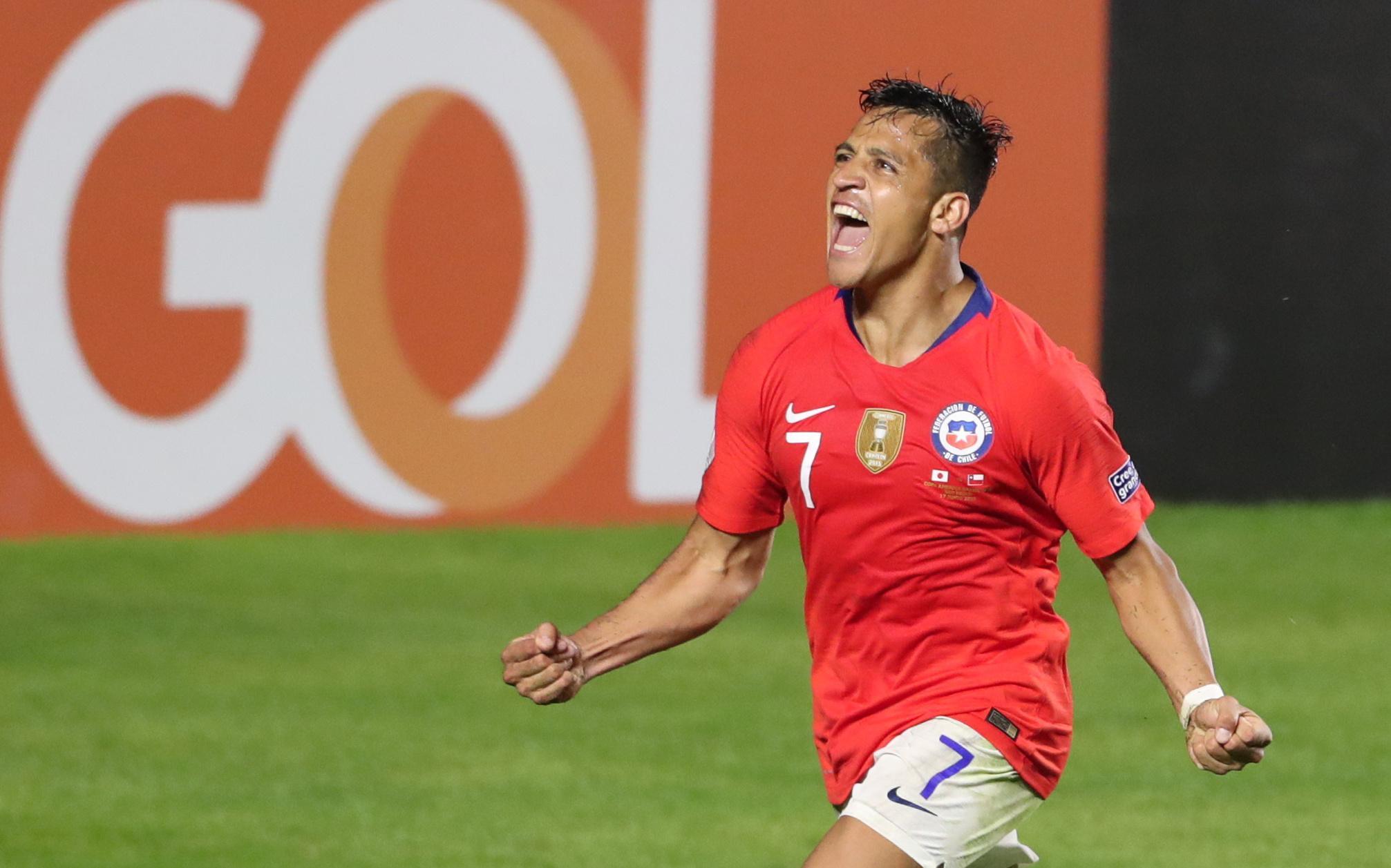 Sanchez strikes as Copa holders Chile thrash Japan