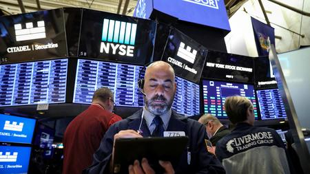Wall St. opens at six-week high on hopes of dovish Fed
