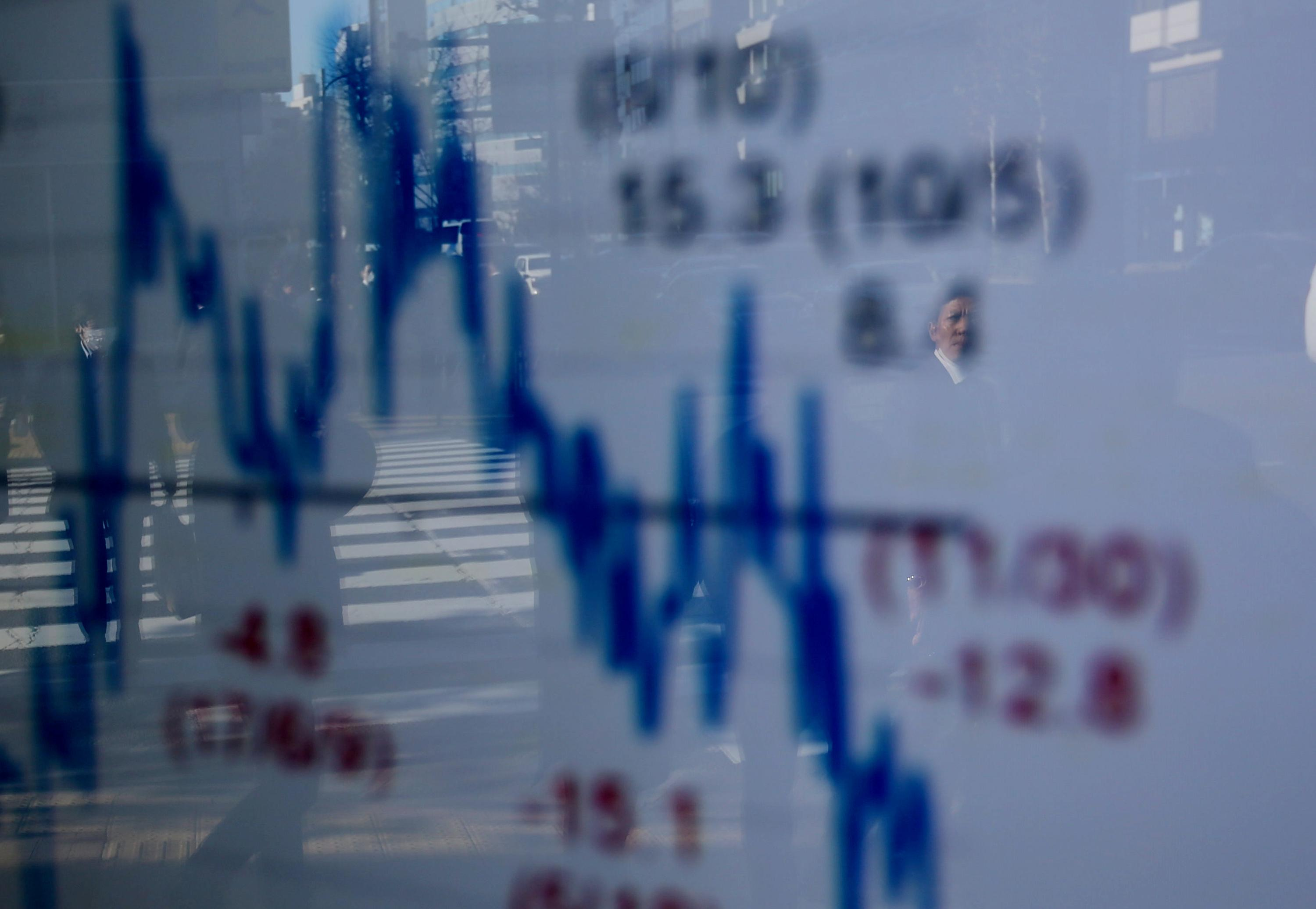 Central banks' dovish cooing keeps world stocks lulled near two-week highs