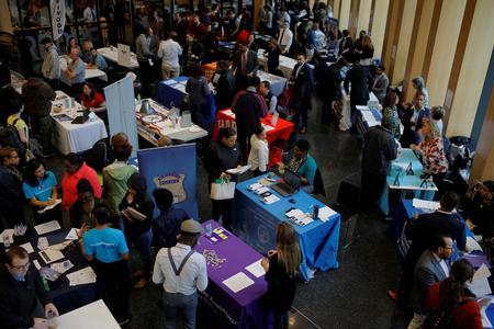 U.S. labor market on solid ground; manufacturing struggling