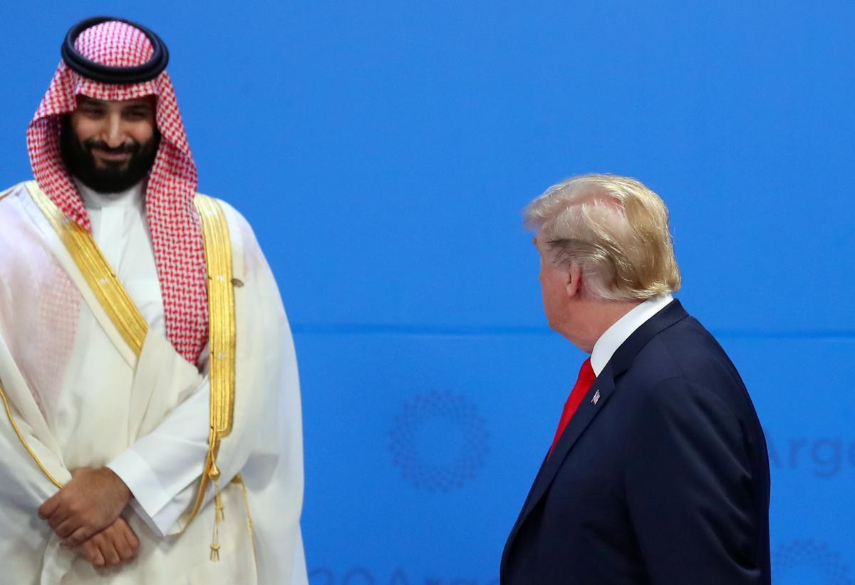 Trump talks to Saudi crown prince on Iran, oil