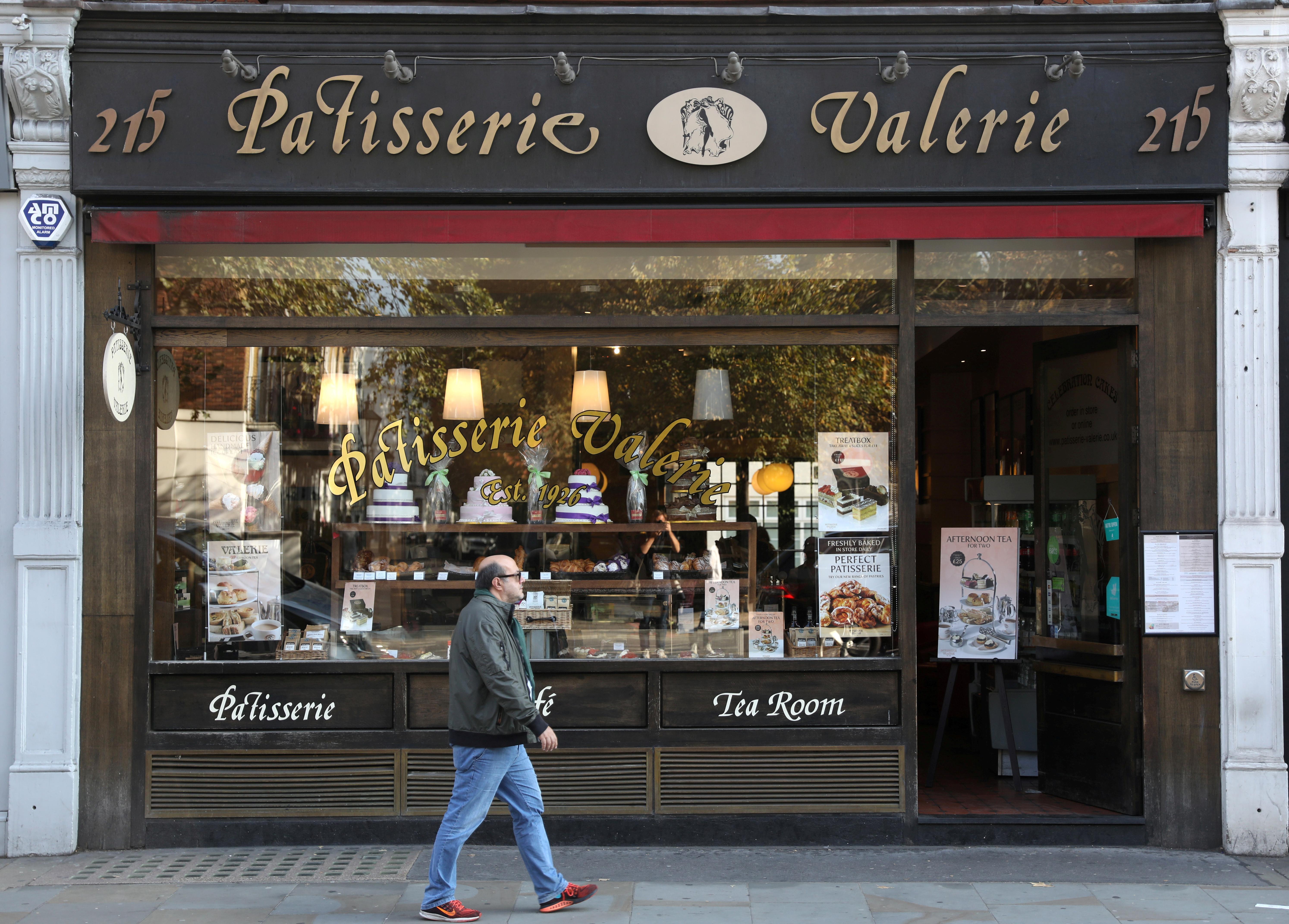 Five arrested in investigation into Patisserie Valerie