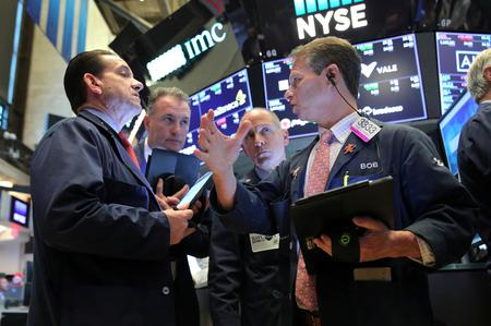 Wall St. opens higher on tech boost