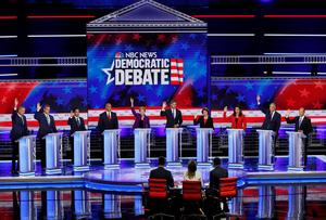 Democratic 2020 candidates face off in first night of Miami debates