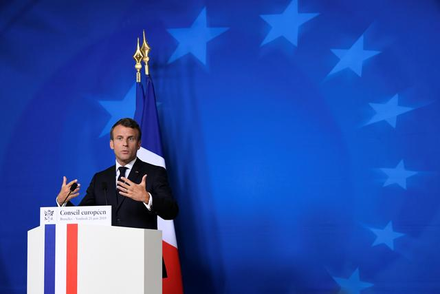 Image result for Macron says he warned Iran's Rouhani about breaking nuclear commitments