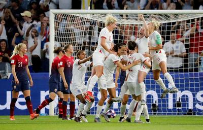 Women's World Cup: Norway 0 - England 3