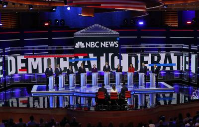 How each Democratic candidate performed in the debates