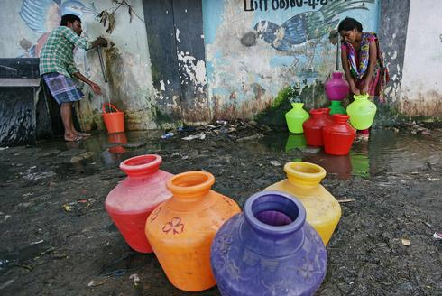 Millions at risk as India's sixth-biggest city runs out of water