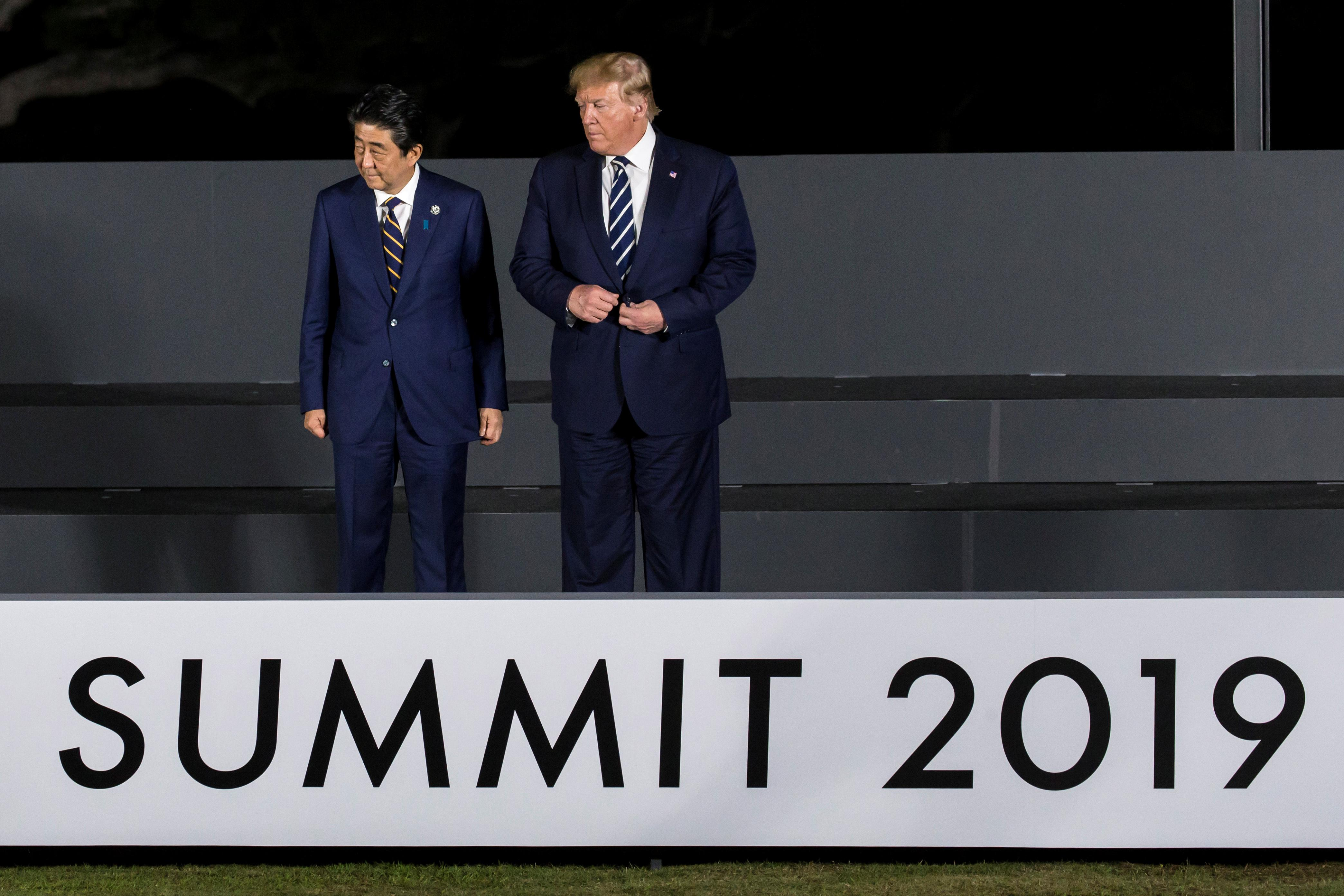 Trump says 'unfair' defense treaty with Japan needs to be changed