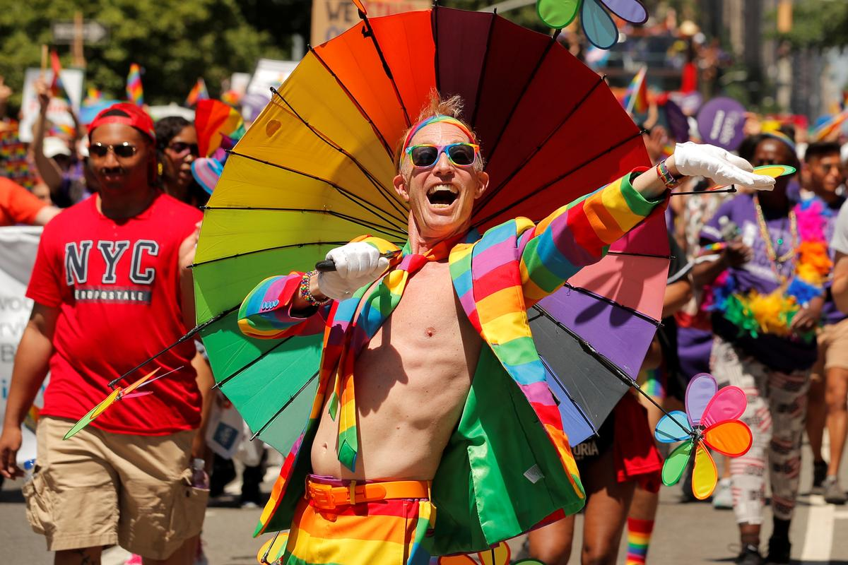 the gay pride parade has sparked marches for gay pride