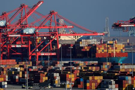 U.S. trade deficit at five-month high; labor market slowing