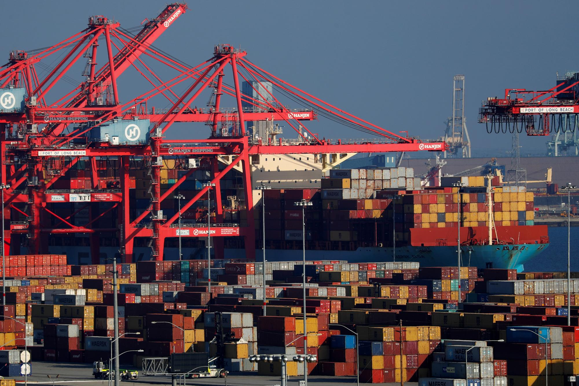 U.S. trade, services industry data point to slowing economy