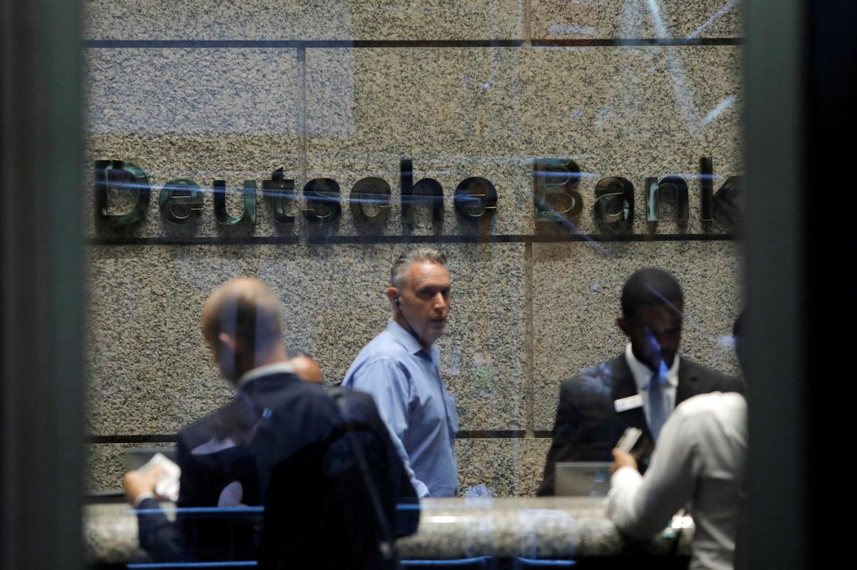 Axe falls on 18,000 Deutsche Bank jobs in $8.3 billion reinvention