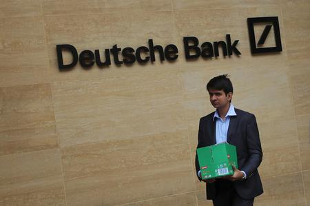 Deutsche Bank careers end in an envelope, a hug and a cab ride
