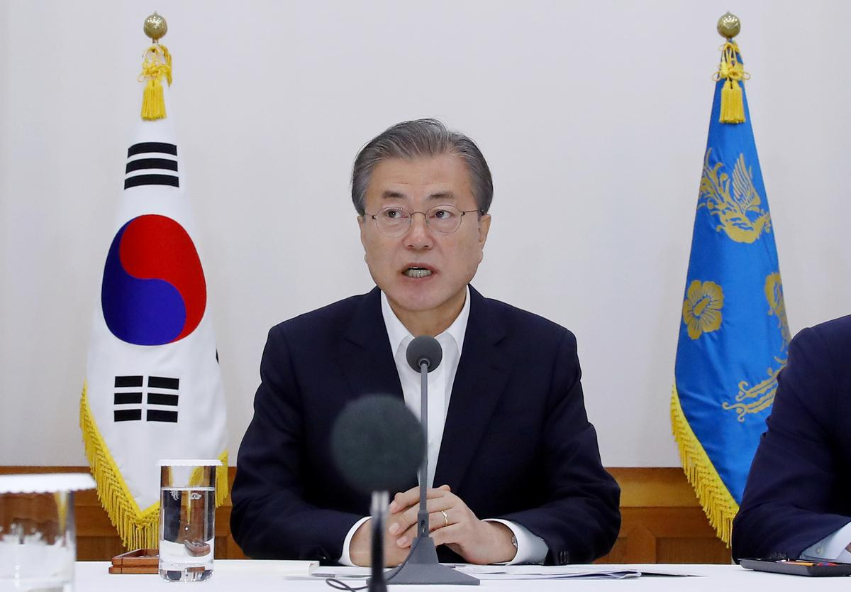 Japan export curbs could be prolonged, says South Korea's Moon