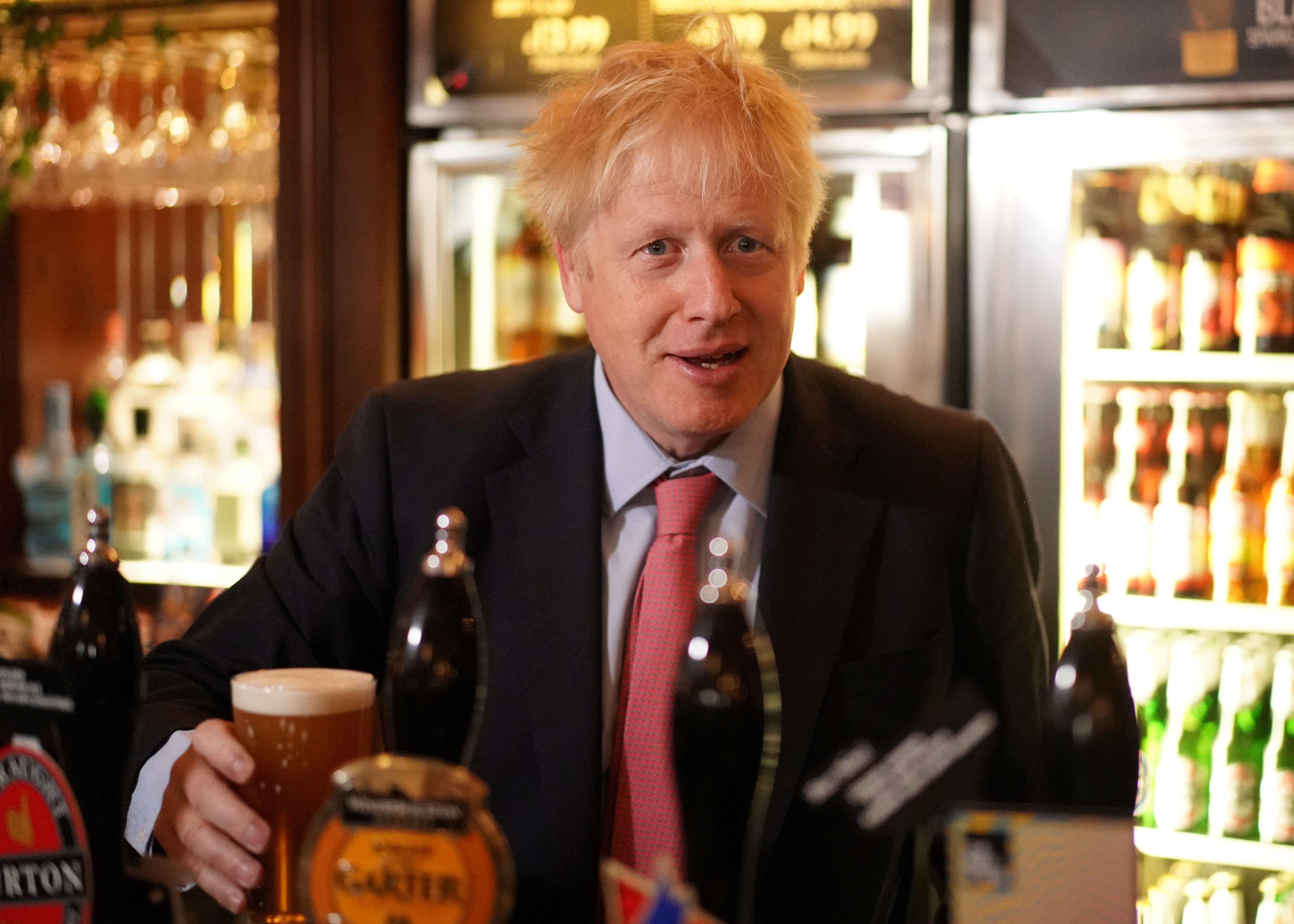UK PM candidate Johnson: 'Very odd' to involve courts in Brexit decision