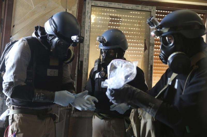 Exclusive: New chemical weapons team to launch first Syria investigations