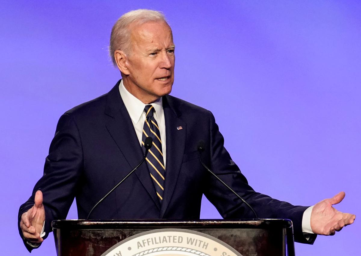 Candidate Biden says Trump's foreign policies have damaged America's standing