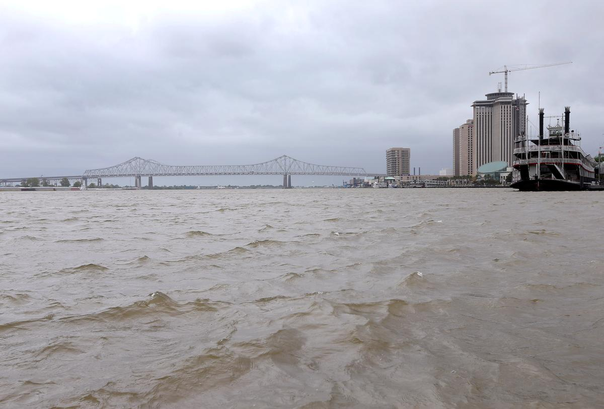 Storm Barry's threat to New Orleans heightened by climate change - scientists