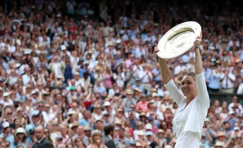 Wait goes on for Williams as inspired Halep wins Wimbledon