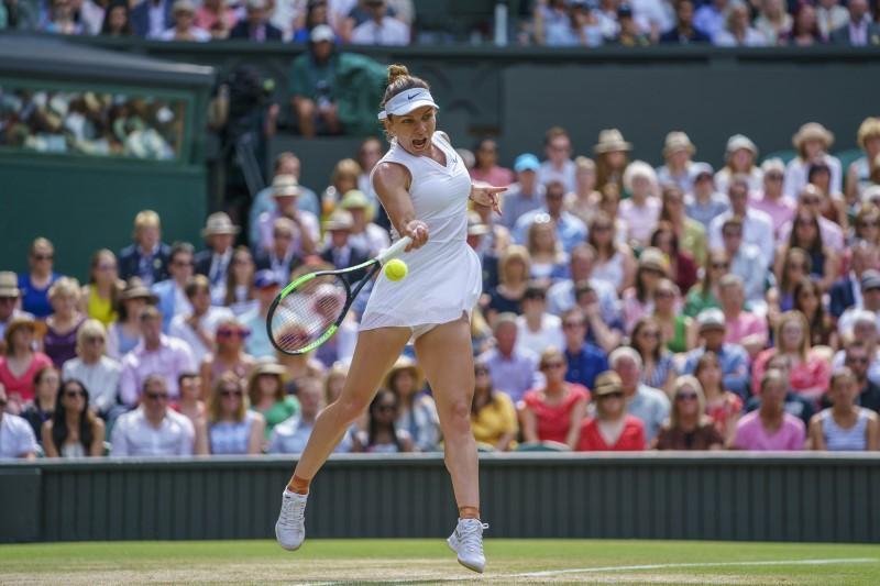 Refroidir les bulles de Halep à ébullition pour gagner Wimbledon