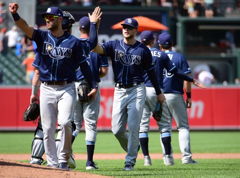 MLB roundup: Rays flirt with perfect game in beating O's - Reuters