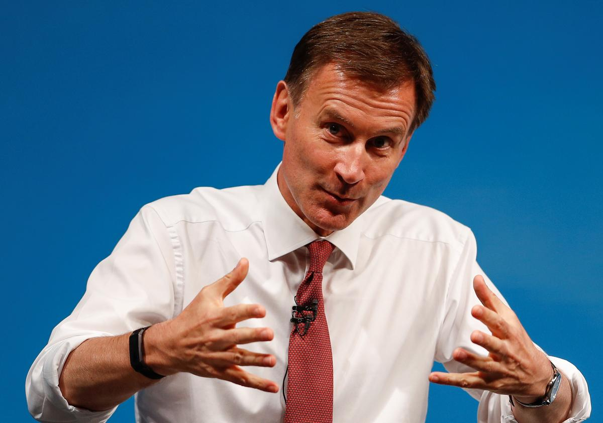 Hunt says 'small window' to save Iran nuclear deal