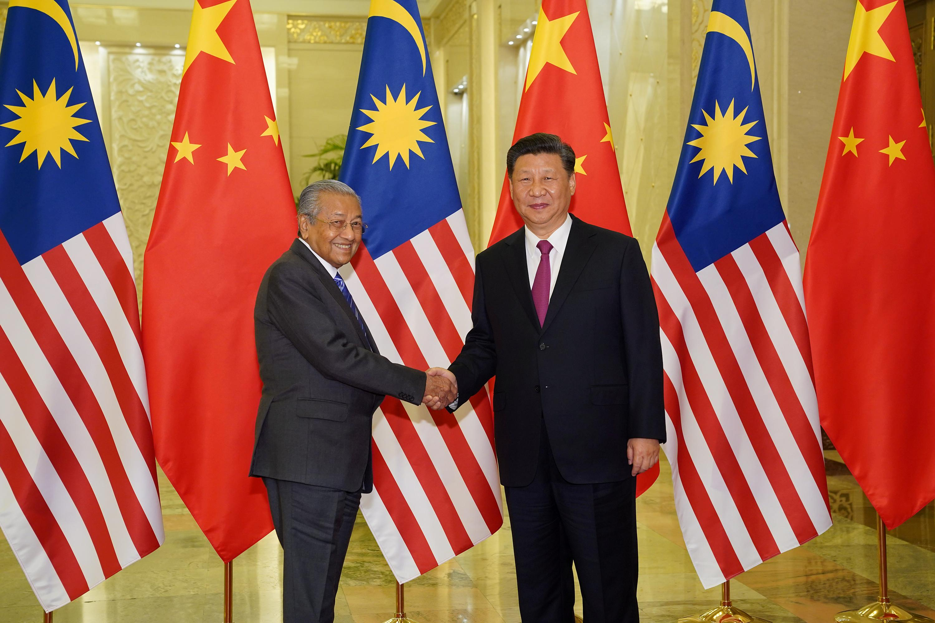 Malaysia seized $240 million from Chinese company over pipeline project: PM Mahathir