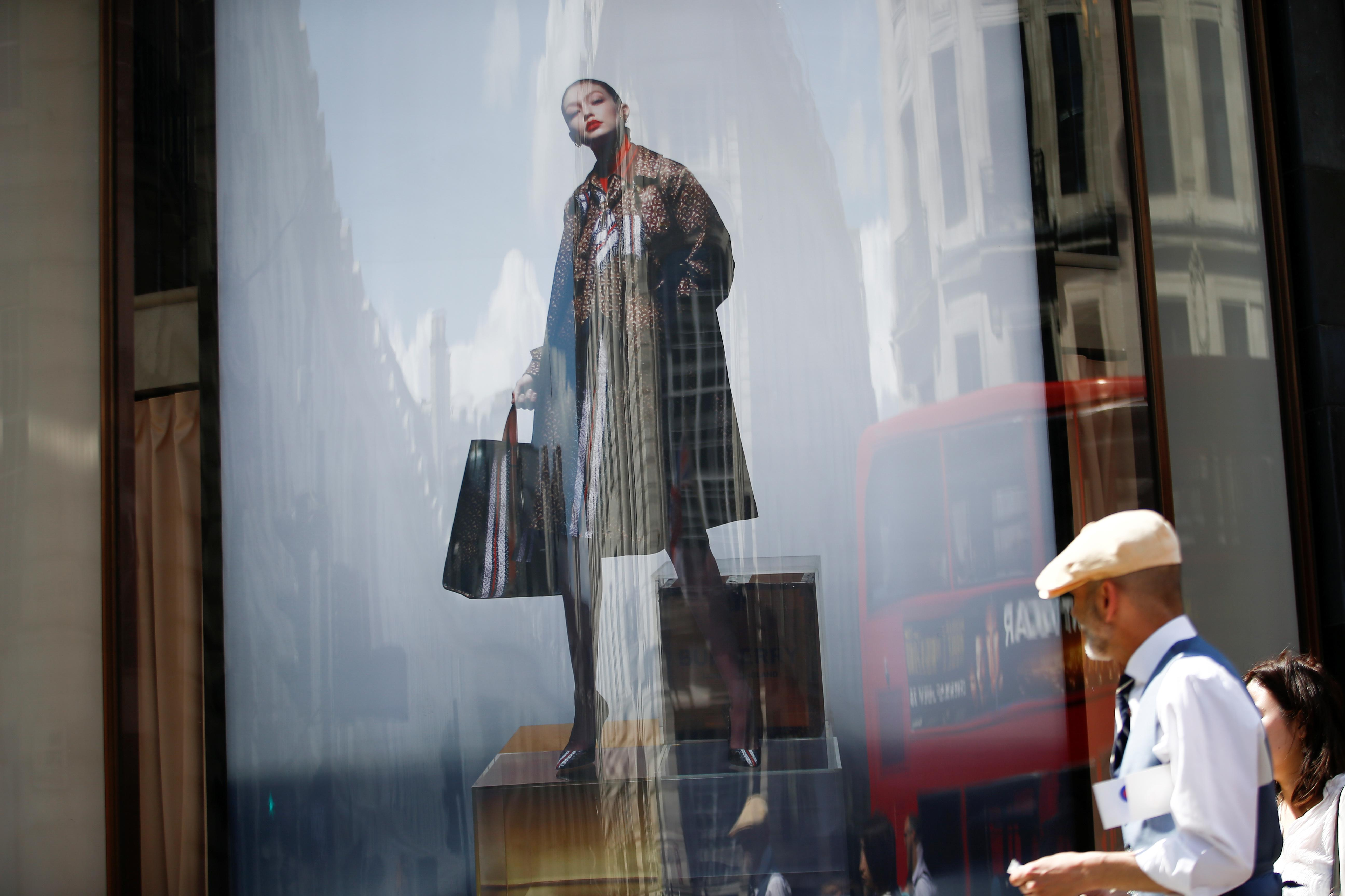 In makeover mode, Burberry bets on new branding to boost sales