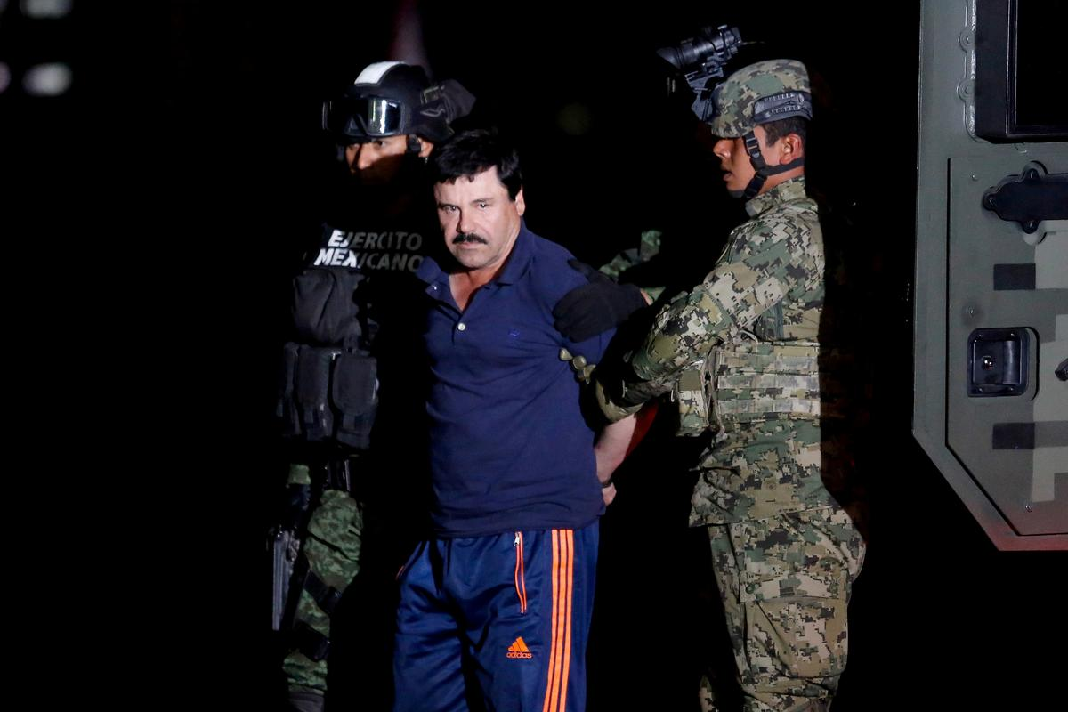 U.S. judge expected to put Mexican drug lord 'El Chapo' behind bars for life