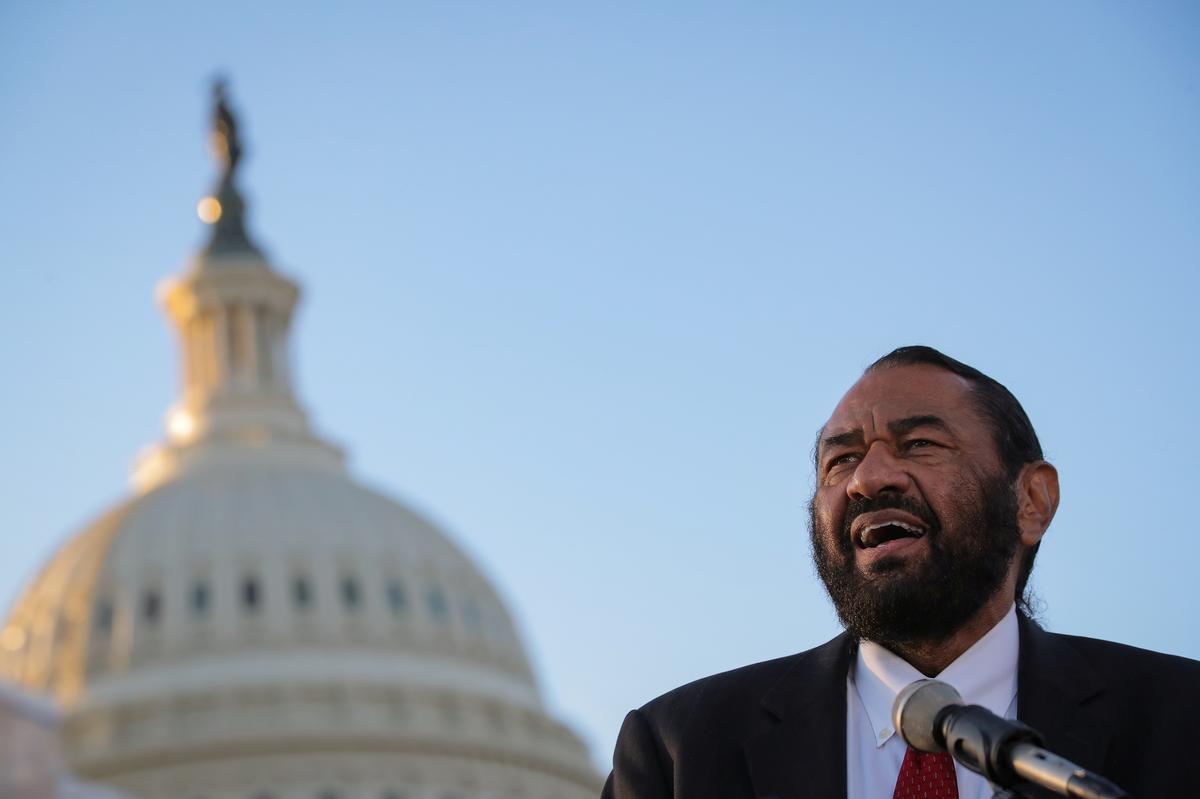 Democratic lawmaker tries to force U.S. House vote on Trump impeachment