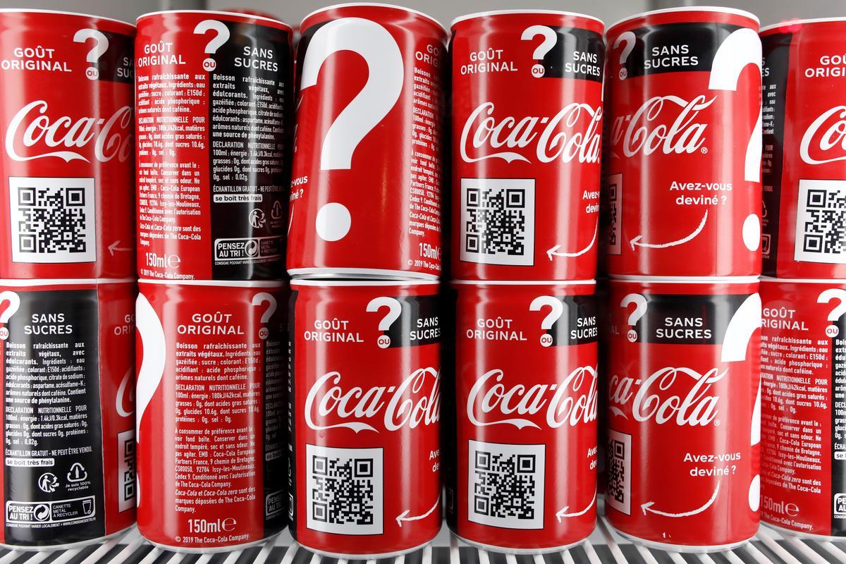 Coca-Cola's coffee and zero sugar soda mix lifts 2019 goals, shares
