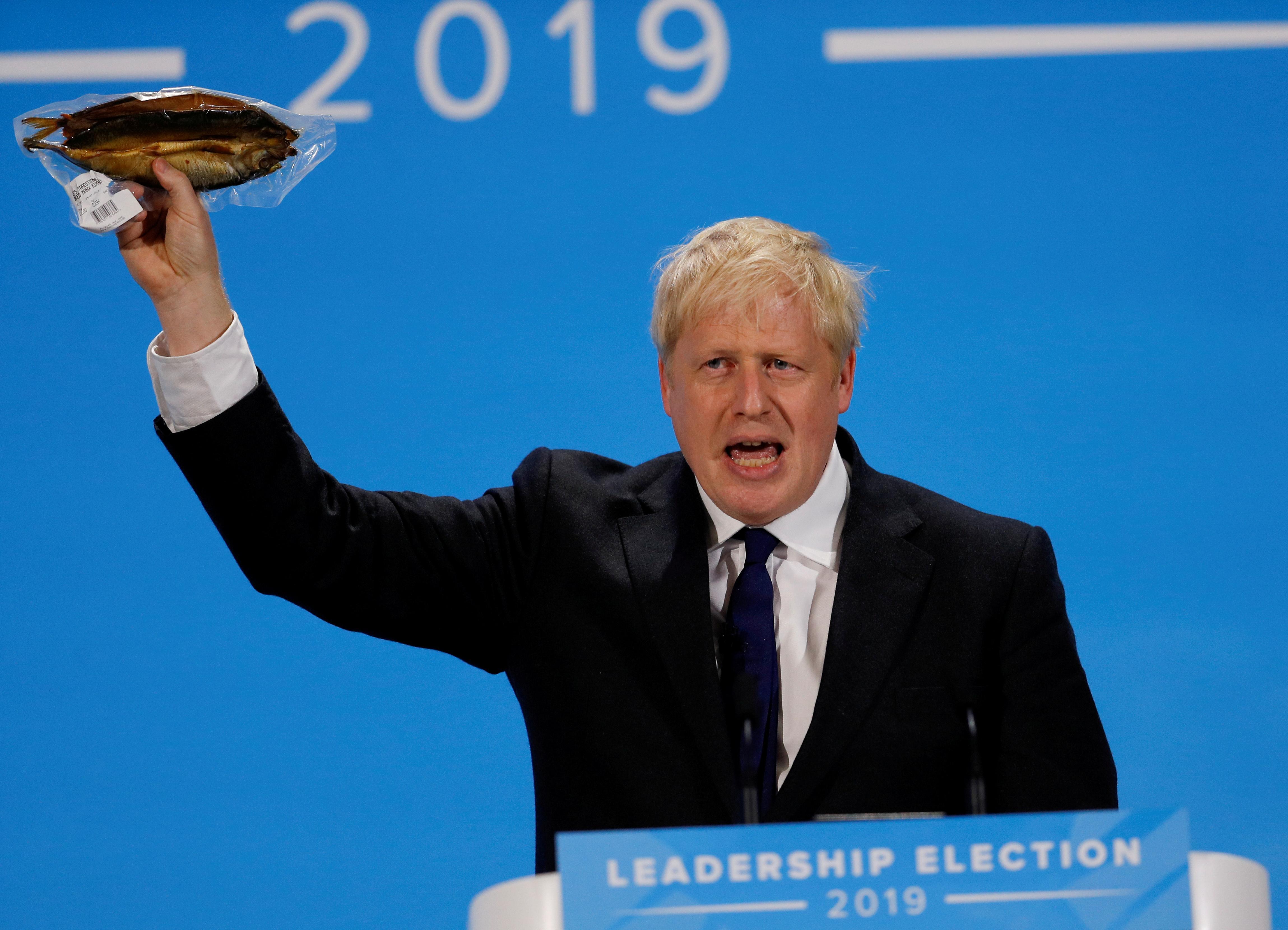 Boris Johnson's magniloquent tongue reaps political gold, linguists say