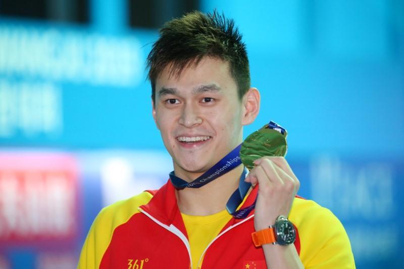 Sun est impliqué dans plus de controverse sur le podium aux championnats du monde