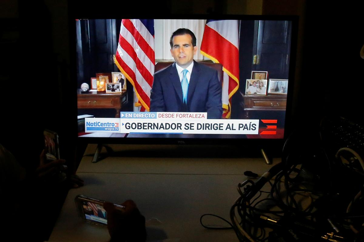 Puerto Rico governor's likely successor may not soothe protester ire
