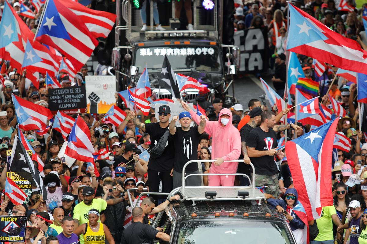 Puerto Rico governor to resign, protesters warn successor: 'You're next'