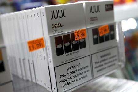 U.S. lawmakers grill E-cig maker Juul over efforts targeted at schoolchildren