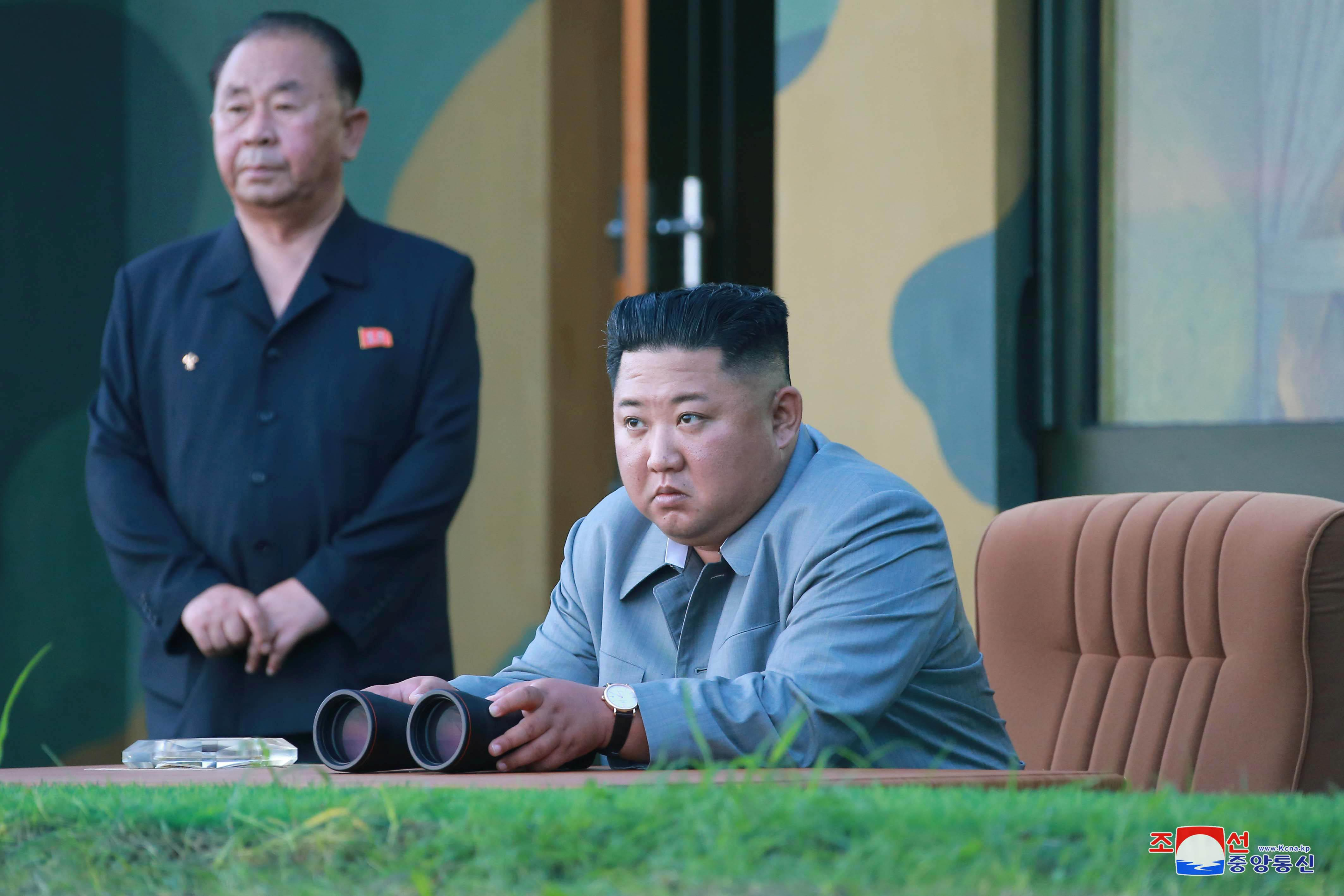 Trump says he is not upset by North Korean launch of short-range missiles