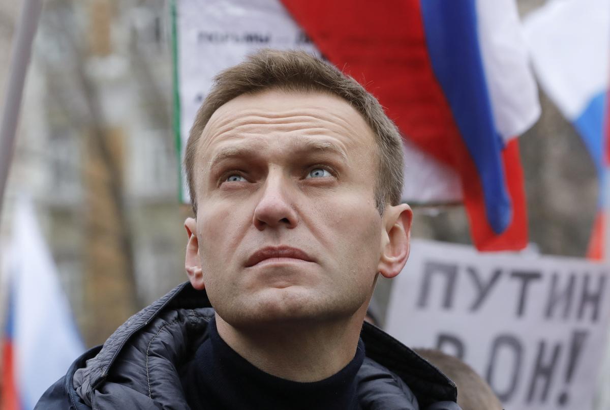 Russian opposition leader Navalny hospitalized for allergic reaction