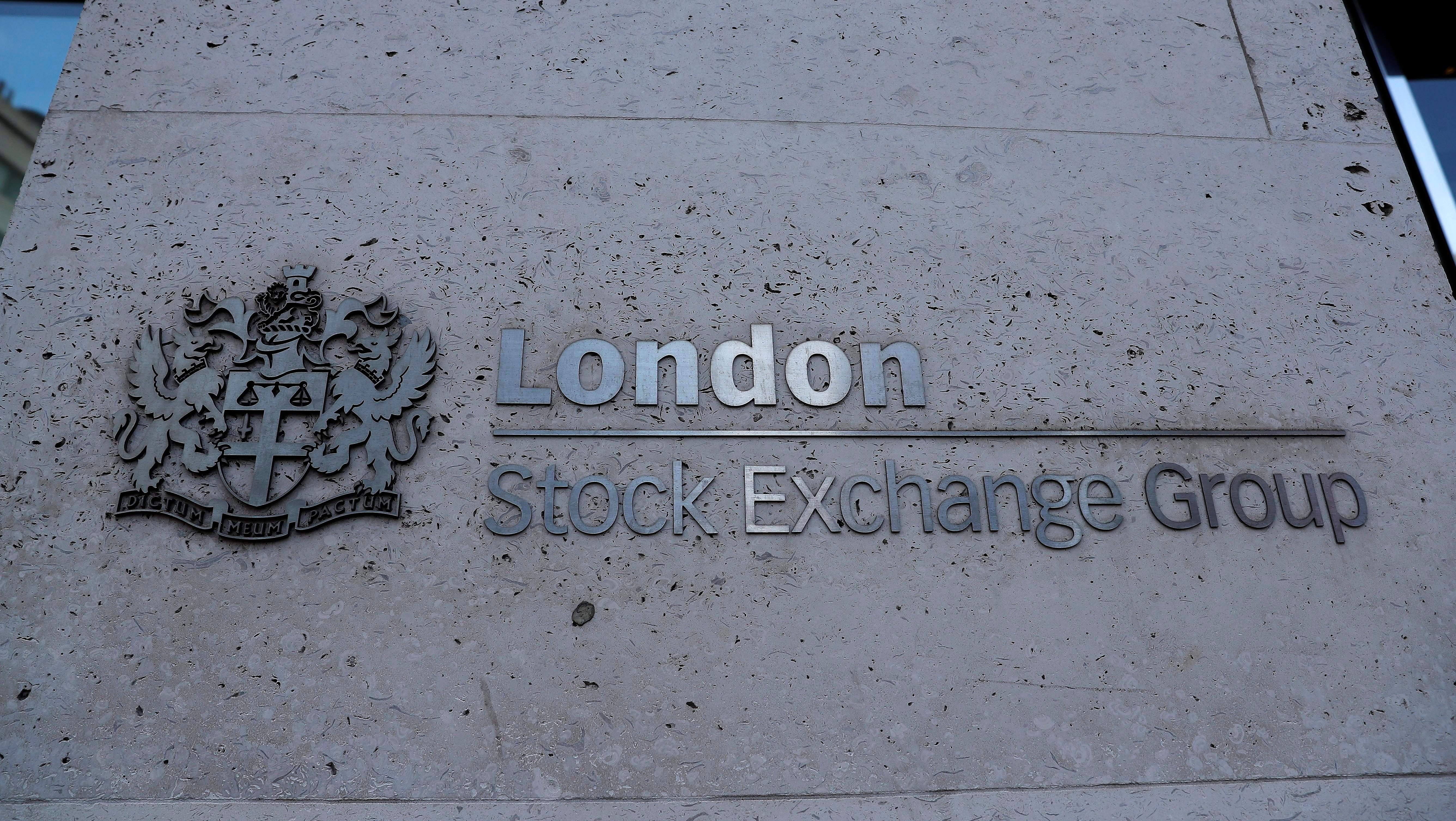 LSE's $27 billion Refinitiv takeover plan lifts its shares to record