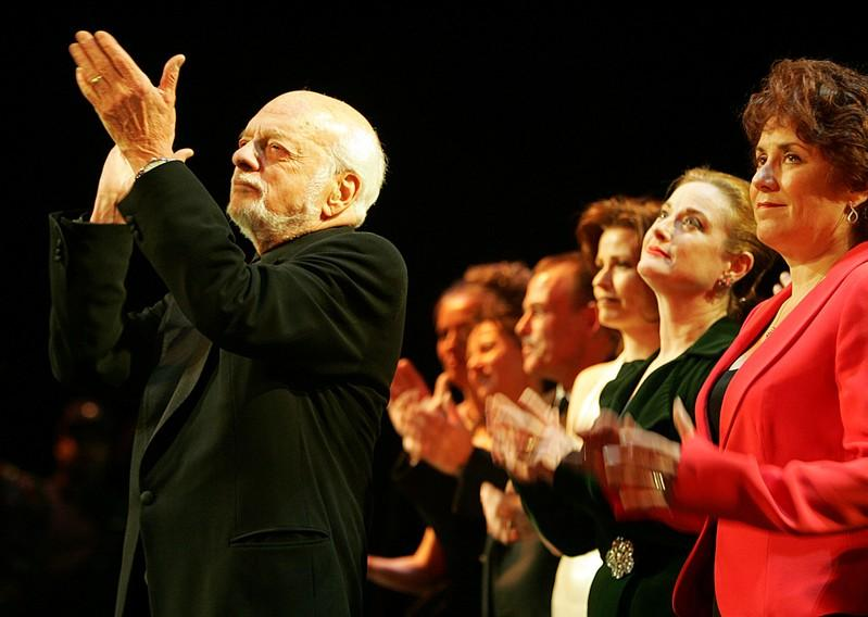 Hal Prince, producer of some of Broadway's biggest hits