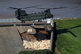 British military called in to stop dam collapse