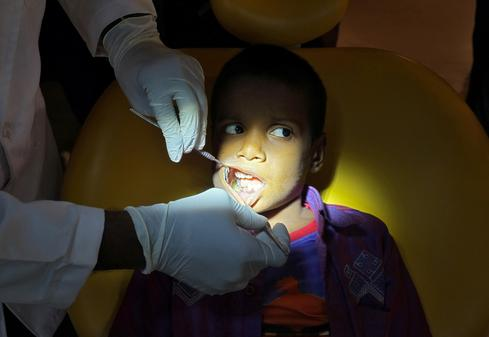 526 teeth removed from boy's mouth