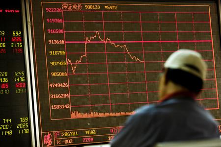 Asia stocks at six-month lows, yuan slumps as investors flee to safety