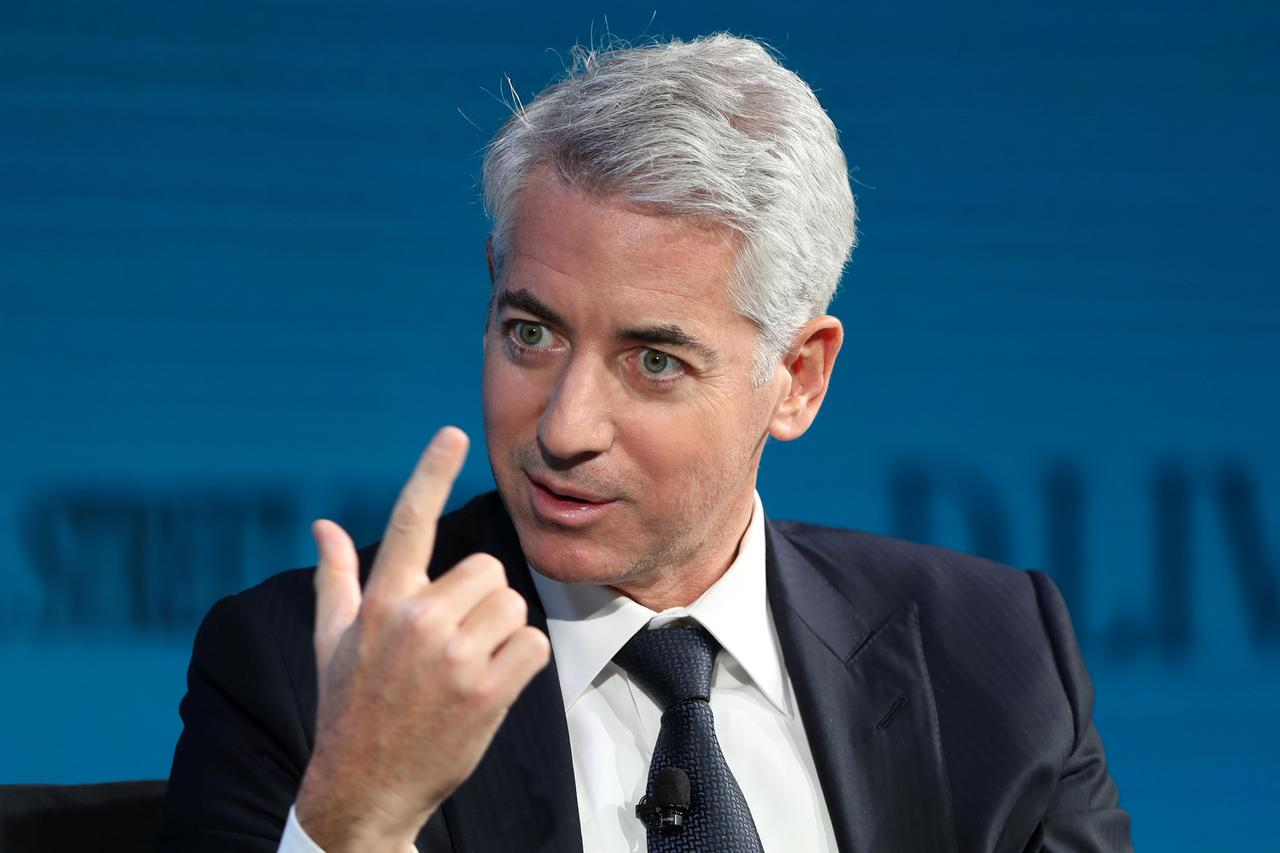 Ackman's Pershing Square exited ADP and United Tech investments