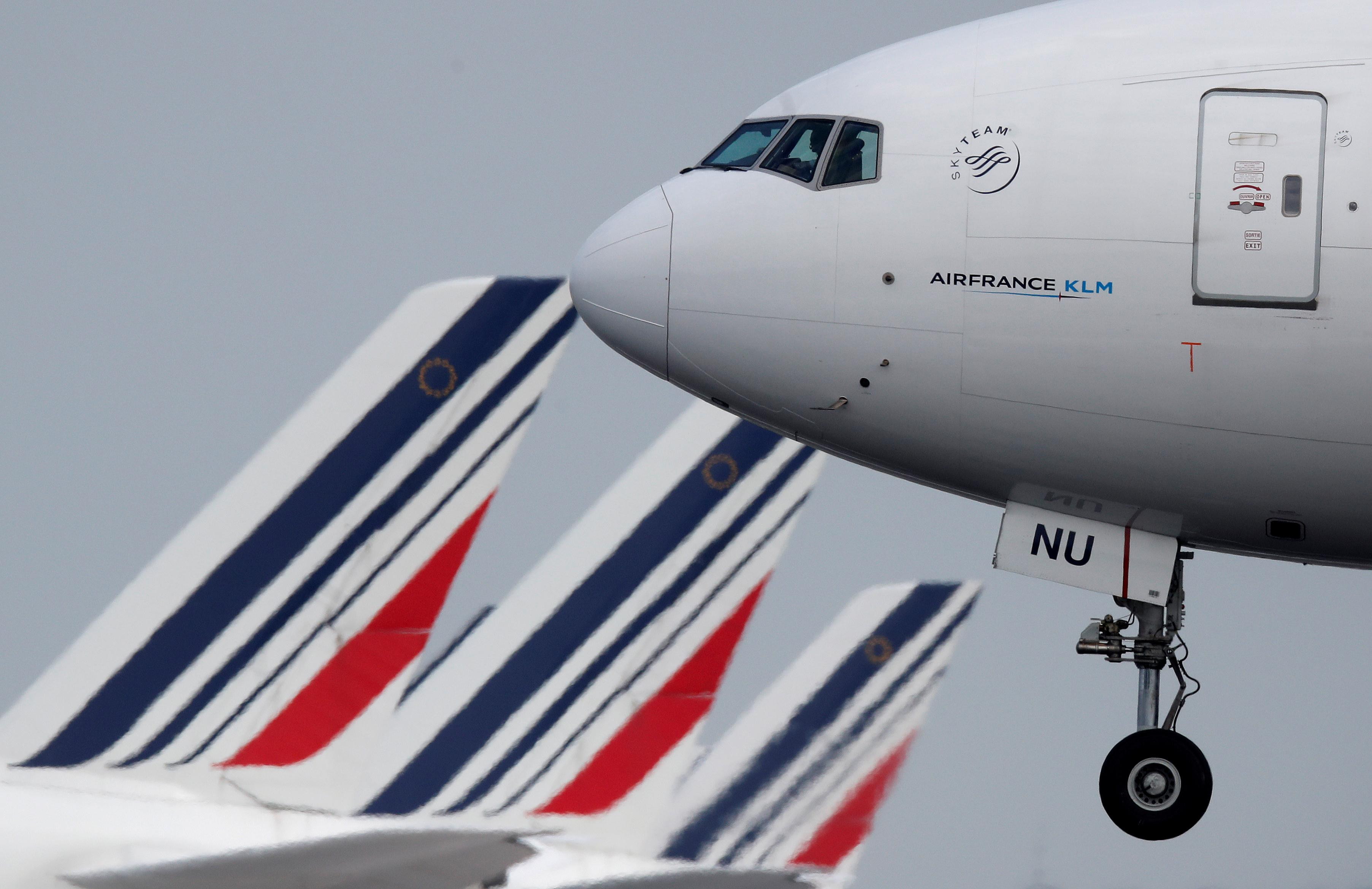 Air France KLM's July passenger numbers rise 1.8% year-on-year